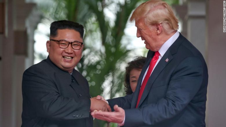 Memorable moments from the Singapore summit