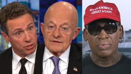 Clapper: I've long been an advocate for Rodman