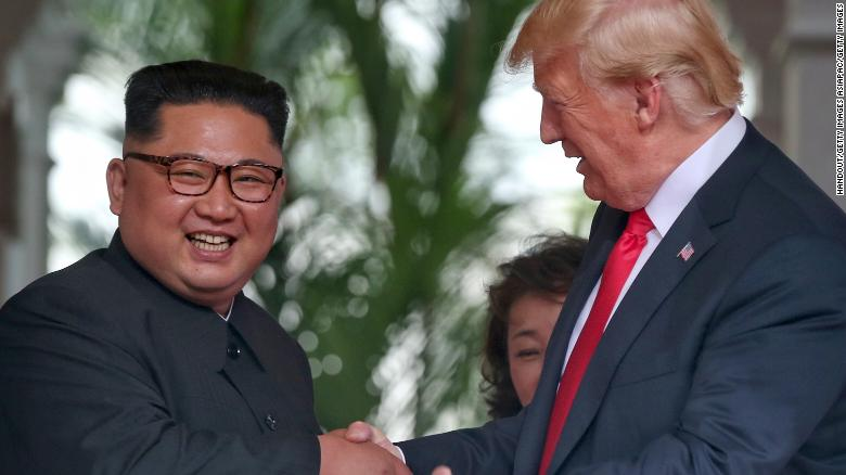 Trump dismisses Kim's human rights abuses