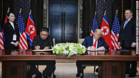 Trump says 'no rush' on North Korea nuclear negotiations