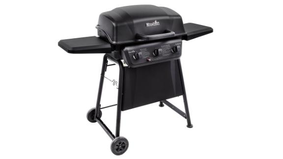 Char-Broil Classic 3-Burner Propane Gas Grill in Black