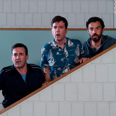 Jon Hamm, Ed Helms, Jake Johnson in 'Tag'