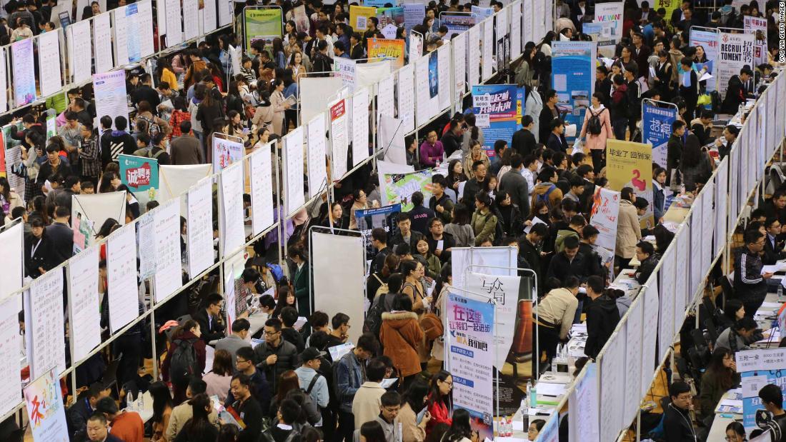 分析:中国は本当に心配の失業率