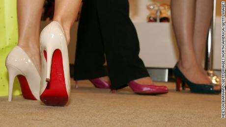 8f32550763d1 Louboutin wins fight to trademark red soles - CNN Video