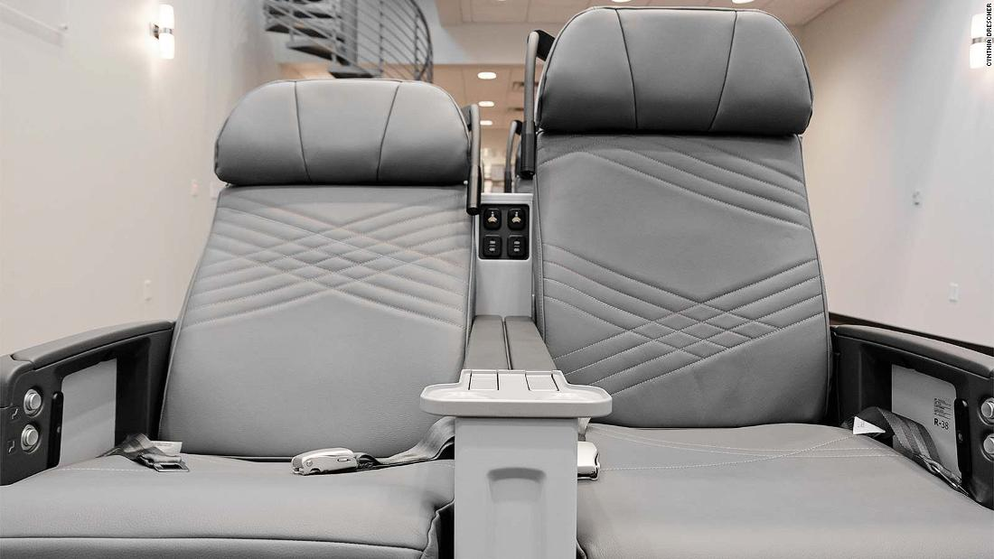 The world's comfiest airplane seats?