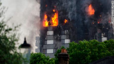 The public inquiry is looking into Grenfell's combustible cladding, which is believed to have caused the blaze's rapid spread.