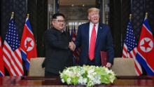Trump says he doesn't know whether Kim Jong Un is ill but wishes him luck