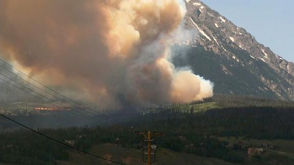 The Buffalo Fire west of Denver is only 100 acres, but officials have told thousands of residents to evacuate.