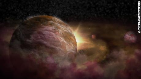 Three 'baby' planets found forming around newborn star