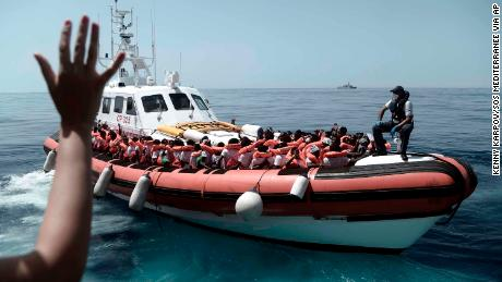 Migrant ship Aquarius reveals a fractured Europe