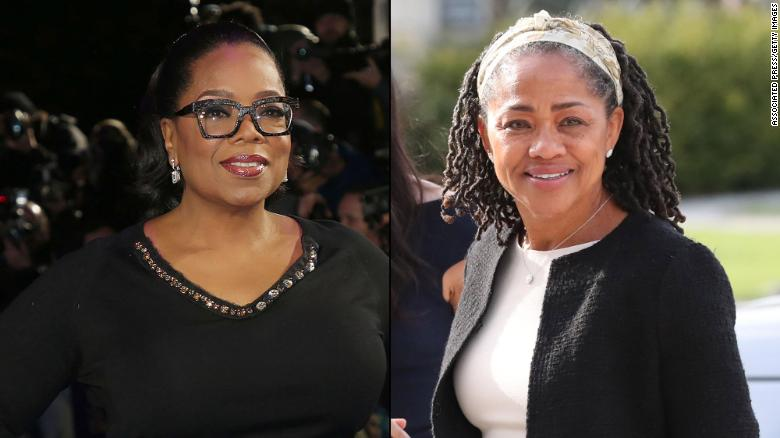 Oprah Winfrey, left, and Doria Ragland