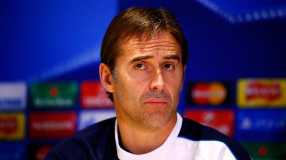 Former goalkeeper for Barcelona and Spain, Julen Lopetegui