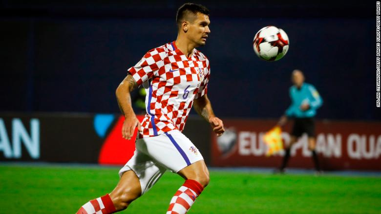 ZAGREB, CROATIA - NOVEMBER 09: Dejan Lovren of Croatia in action during the FIFA 2018 World Cup Qualifier Play-Off: First Leg between Croatia and Greece at Stadion Maksimir on November 9, 2017 in Zagreb, Croatia (Photo by Srdjan Stevanovic/Getty Images)