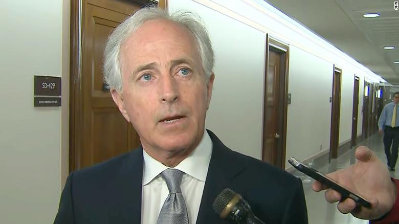 Sen. Corker calls GOP on 'cult-like situation'
