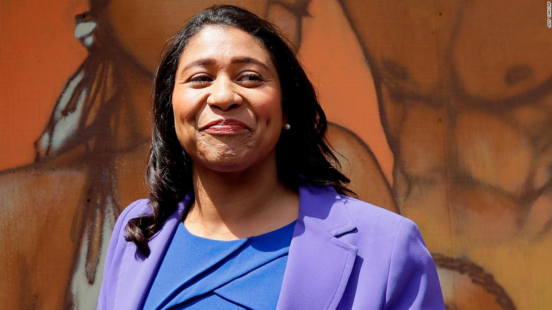 Image result for For the first time, a black woman will be mayor of San Francisco
