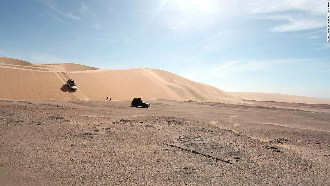 <strong>Adventure sports:</strong> The only way to explore the northernmost part of the Skeleton Coast between Mowe Bay and the Kunene River is by joining a mobile tented safari with permission to travel in the restricted zone.