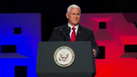 VP Mike Pence Southern Baptist convention Dallas