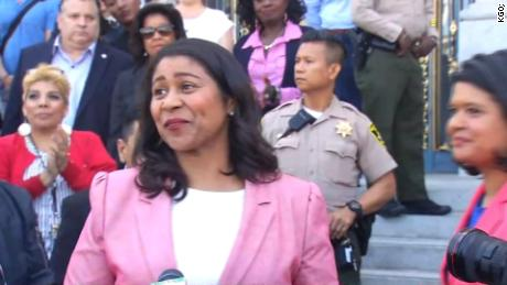 First black woman elected to lead San Francisco