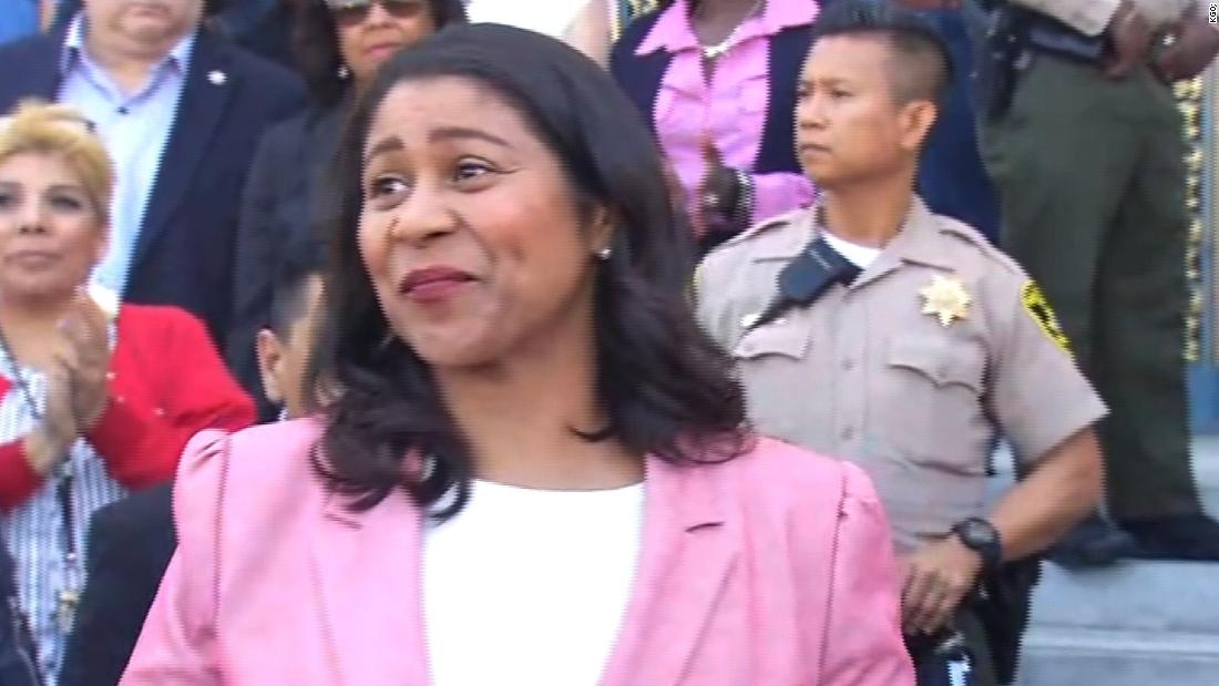 First black woman elected to lead San Francisco - CNN Video
