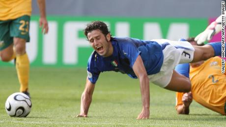 Fabio Grosso won an injury-time penalty for Italy in 2006 against Australia.