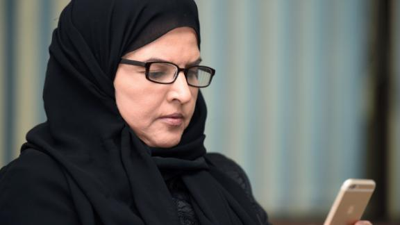 Saudi activist Aziza al-Youssef was temporarily released on Thursday.