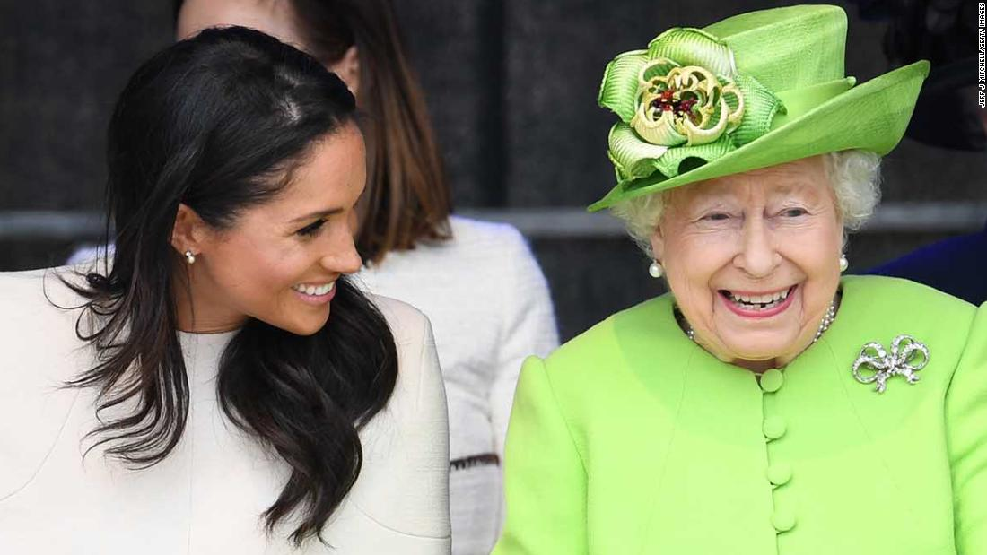 Meghan joins Queen for joint royal outing