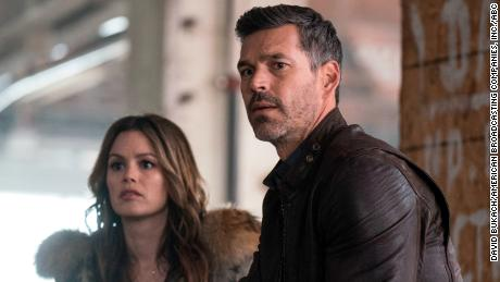 Rachel Bilson, Eddie Cibrian in 'Take Two'