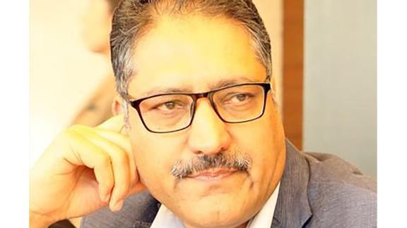 Journalist Shujaat Bukhari.