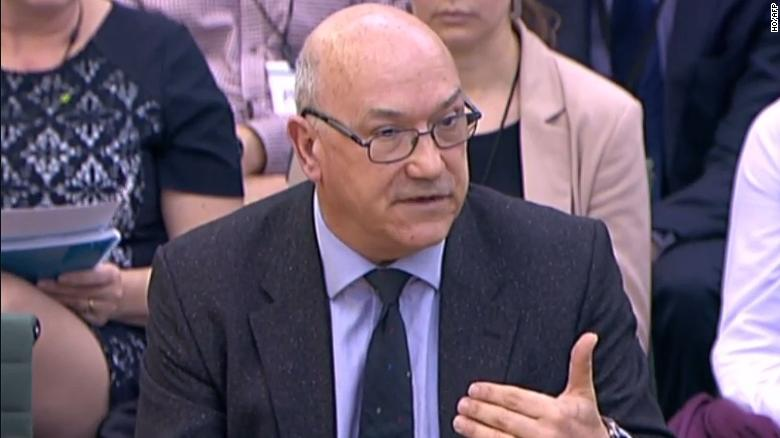 Former Oxfam CEO Mark Goldring, who resigned in February.