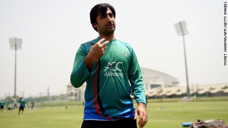 Afghanistan cricket team captain Asghar Stanikzai during an interview at a cricket stadium in Greater Noida on May 7.