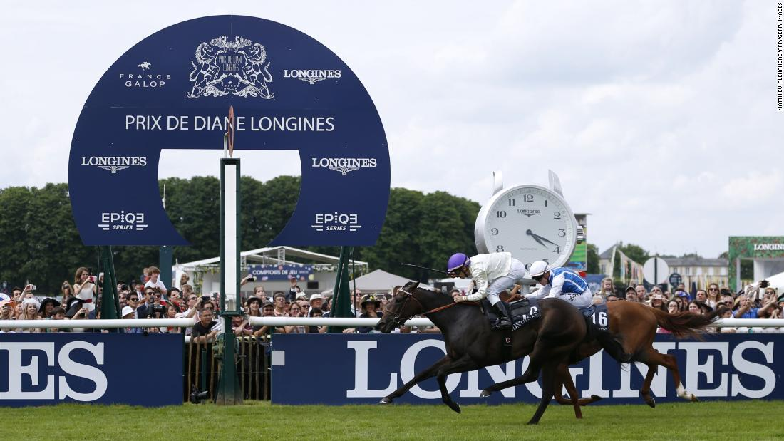Six winners have gone on to triumph in the prestigious Prix de l'Arc du Triomphe, most recently Treve in 2013. La Cressonniere (pictured) won in 2016.