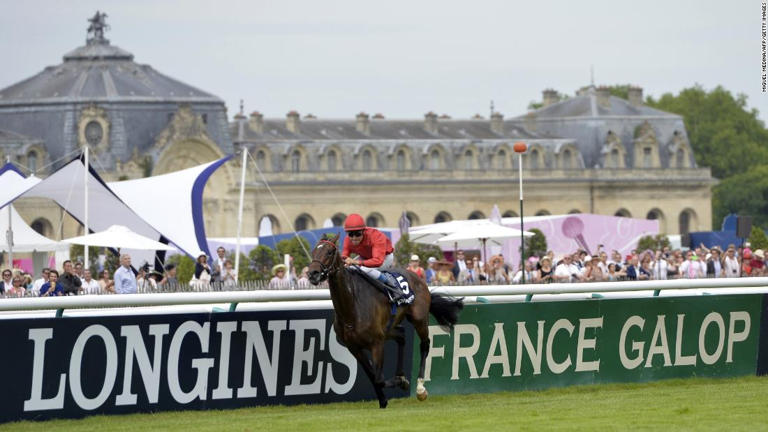 June's Prix de Diane is a 2,100-meter (1 mile 2½ furlongs) race for three-year-old fillies, known as the French Oaks in reference to the English fillies' Classic at Epsom the day before the Derby.