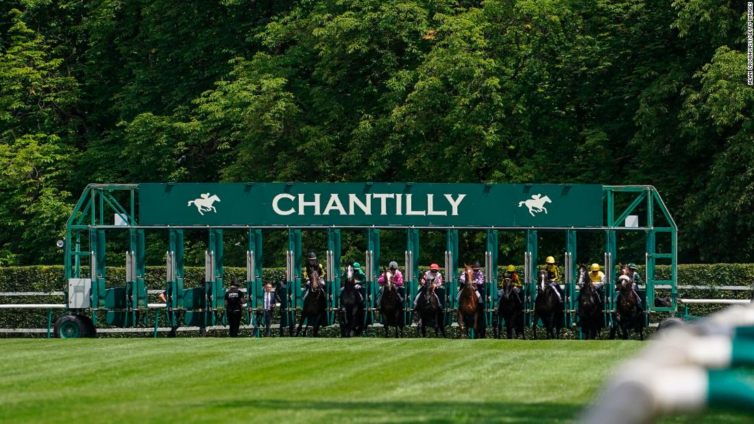 "Chantilly was used for horse racing scenes in the 1985 James Bond film ""A View to a Kill,"" featuring Max Zorin (Christopher Walken) as the evil villain."
