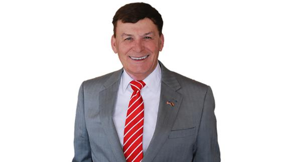 David Stringer appears in a photo taken from his campaign site.
