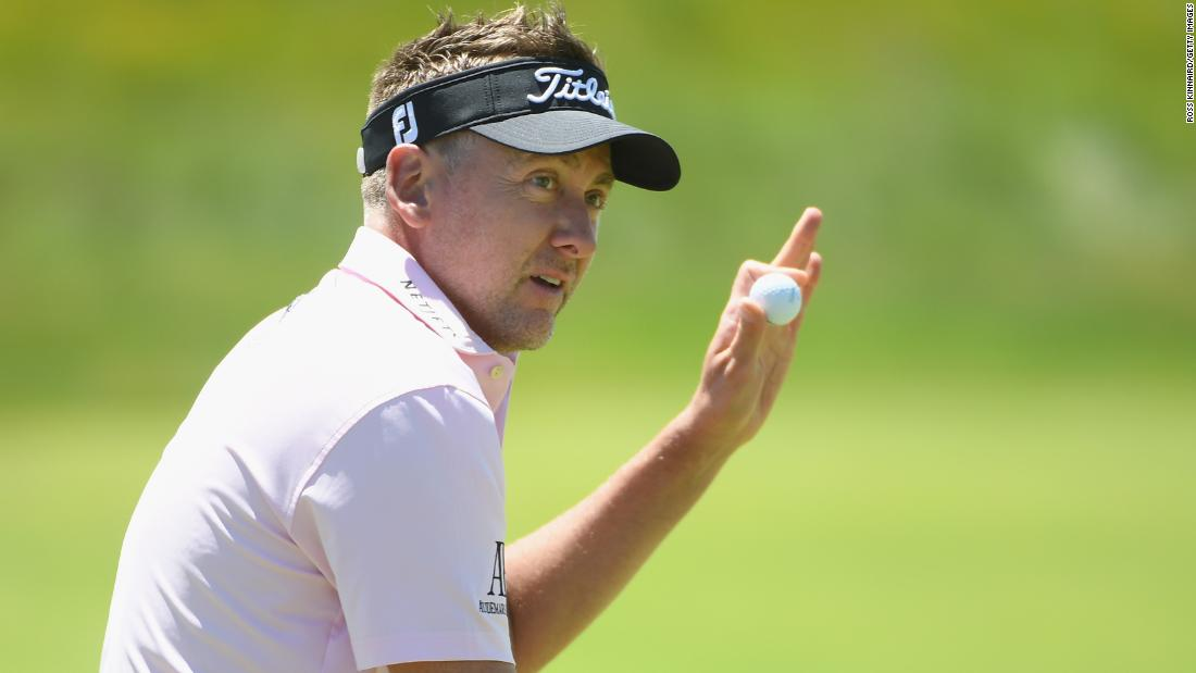 "Englishman Ian Poulter was another on one under despite labeling it ""extremely difficult."""