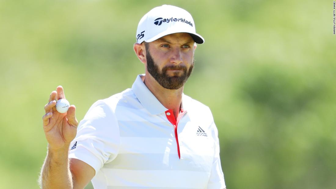 World No.1 and 2016 champion Dustin Johnson was one of only four players to finish under par out of a field of 156. The big-hitting American shot 69 to share a four-way tie for the lead.