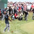 Tiger Woods US Open day one chip first