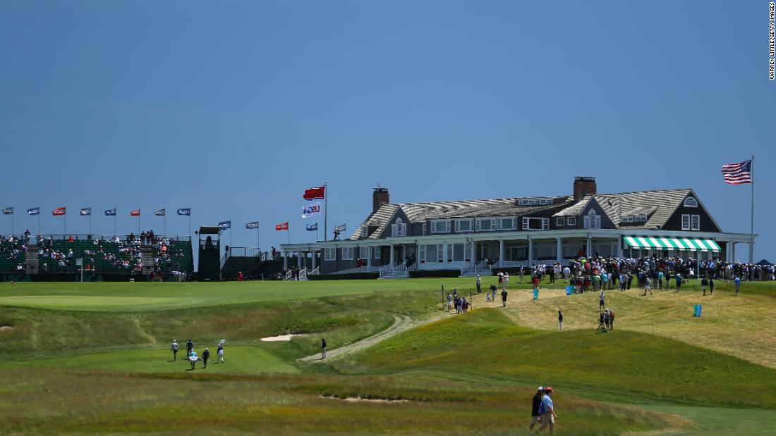 <strong>Day one:</strong> A stiff breeze and the savage Shinnecock Hills course on Long Island shredded the nerves and the hopes of some of golf's top stars on day one of the US Open.