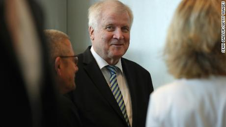 "Seehofer is proposing a controversial ""migration master plan."""