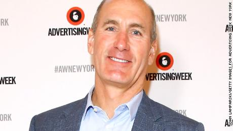 NEW YORK, NY - SEPTEMBER 28:  CEO, AT&T Entertainment Group John Stankey poses backstage at the MediaLink Presents: MASS-terclass: The New Age of Mass Personalization panel on the Times Center Stage during 2016 Advertising Week New York on September 28, 2016 in New York City.  (Photo by John Lamparski/Getty Images for Advertising Week New York)