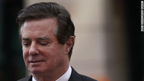 Former Trump campaign manager Paul Manafort leaves the Albert V. Bryan U.S. Courthouse after an arraignment hearing March 8, 2018 in Alexandria, Virginia. Manafort pleaded not guilty to new tax and fraud charges, brought by special counsel Robert MuellerÕs Russian interference investigation team, at the Alexandria federal court in Virginia, where he resides. A trial date has been set for July 10, 2018. Alex Wong/Getty Images