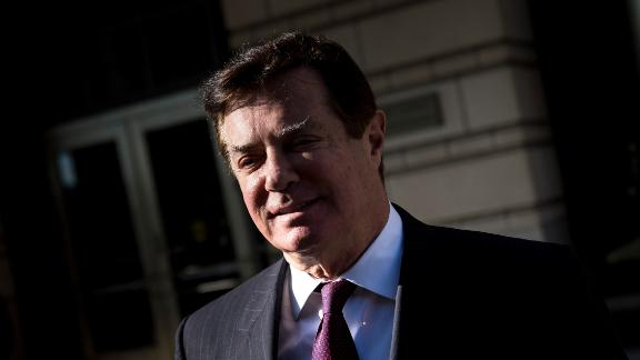 Former Trump campaign chairman Paul Manafort leaves Federal Court on December 11, 2017 in Washington, DC. In October, Trump's one-time campaign chairman Paul Manafort and his deputy Rick Gates were arrested on money laundering and tax-related charges. Brendan Smialowski/AFP/Getty Images