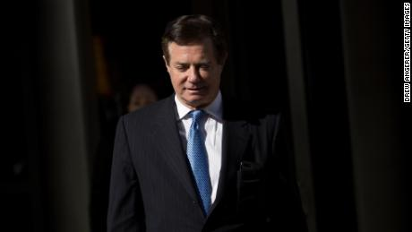 Paul Manafort, former campaign manager for Donald Trump, exits the E. Barrett Prettyman Federal Courthouse, February 28, 2018 in Washington, DC. This is Manafort's first court appearance since his longtime deputy Rick Gates pleaded guilty last week in special counsel Robert MuellerÕs Russia probe. Drew Angerer/Getty Images