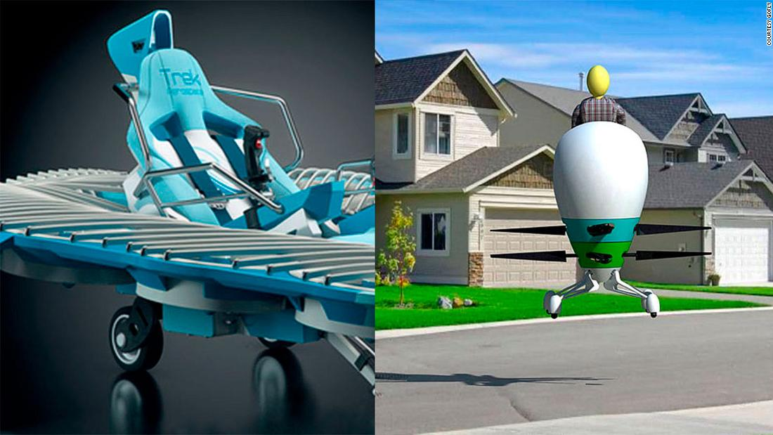 Incredible personal aircraft designs revealed