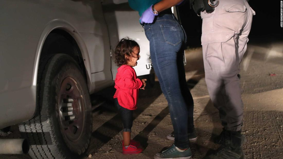 Trump suggests separation of families at border is a negotiating tool