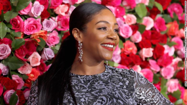 NEW YORK, NY - JUNE 10:  Tiffany Haddish attends the 72nd Annual Tony Awards at Radio City Music Hall on June 10, 2018 in New York City.  (Photo by Jemal Countess/Getty Images for Tony Awards Productions)