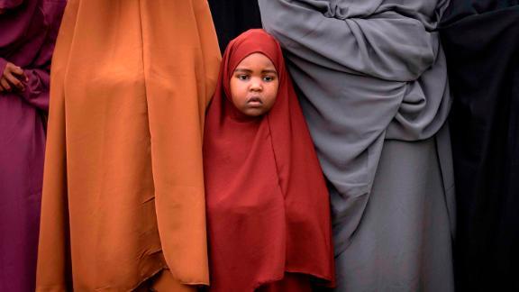 People take part in Eid al-Fitr prayers at the Sir Ali Muslim Club in Nairobi, Kenya.