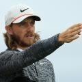 Tommy Fleetwood US Open day two