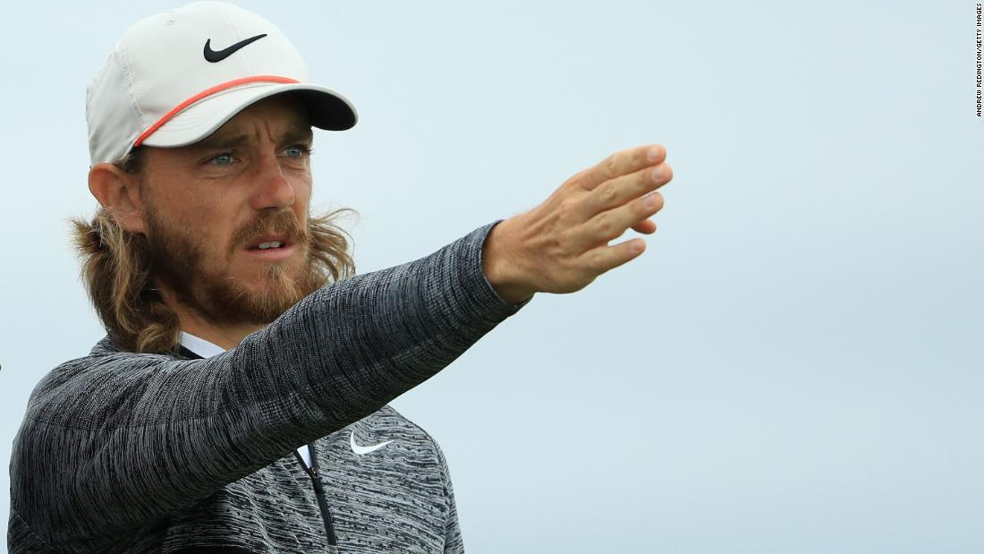 England's Tommy Fleetwood, the world No. 12, fired the best round of the week so far with a 66 to reach one over, beating Thursday's best score by three strokes.