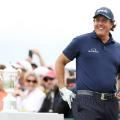 Phil Mickelson US Open day two